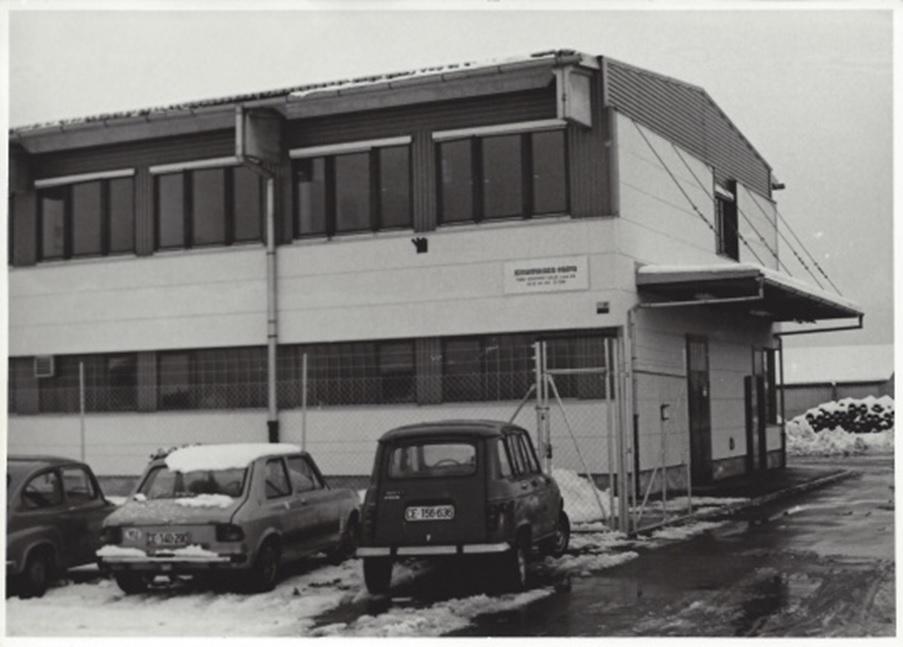 Sedež Komunale Celje in Vodovod-kanalizacije leta 1974.